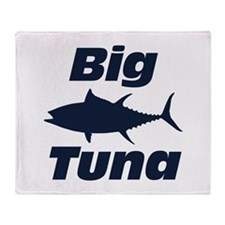Big Tuna Throw Blanket