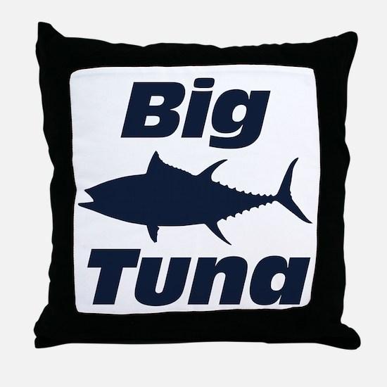 Big Tuna Throw Pillow