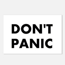 Don't Panic Postcards (Package of 8)