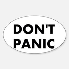 Don't Panic Decal