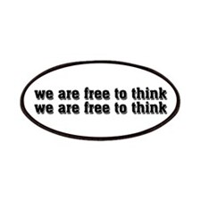 Free To Think Patches