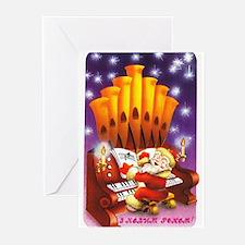 New Year's Music Ukrainian Cards (Pk of 10)
