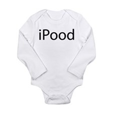 iPood Long Sleeve Infant Bodysuit
