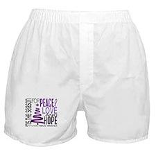 Christmas 1 Cystic Fibrosis Boxer Shorts