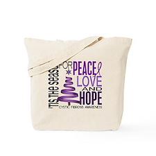 Christmas 1 Cystic Fibrosis Tote Bag