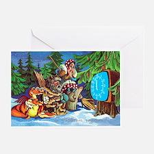 Animated cartoon Greeting Card