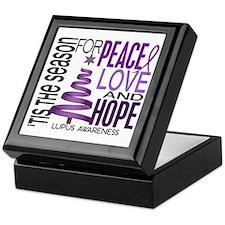 Christmas 1 Lupus Keepsake Box