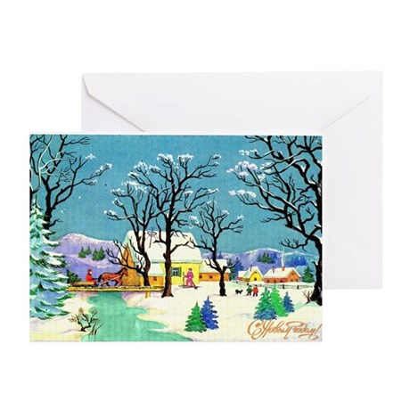 New Year's Picture Greeting Cards (Pk of 10)