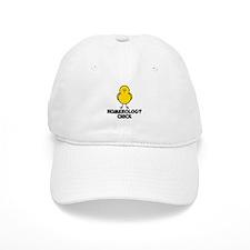Numerology Chick Baseball Cap