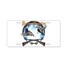 Duck hunter 2 Aluminum License Plate