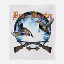 Duck hunter 2 Throw Blanket