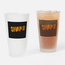 Snap Drinking Glass