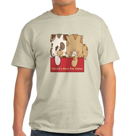 Best Pet Sitter Light T-Shirt