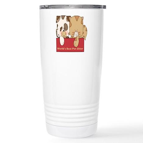 Best Pet Sitter Stainless Steel Travel Mug