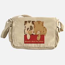Best Pet Sitter Messenger Bag