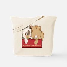 Best Pet Sitter Tote Bag