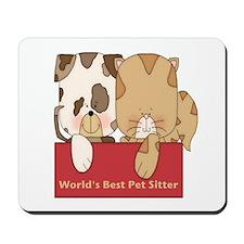Best Pet Sitter Mousepad