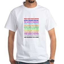 Mean & Qirky Cards Shirt