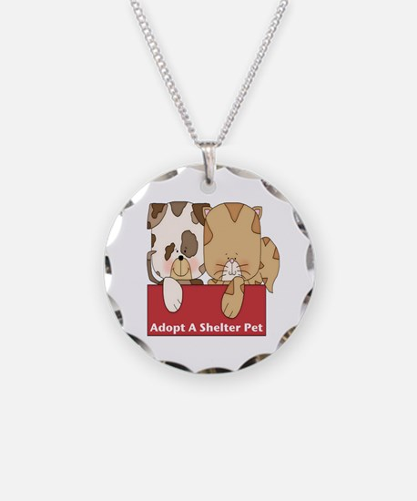 Adopt Shelter Pets Necklace