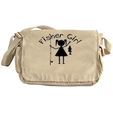 FISHER GIRL Messenger Bag