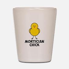 Mortician Chick Shot Glass