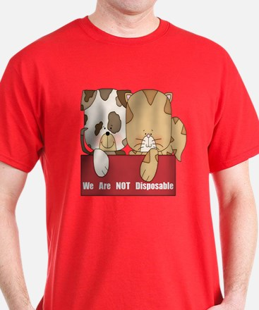 Pets Not Disposable T-Shirt