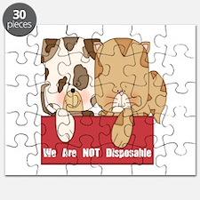 Pets Not Disposable Puzzle