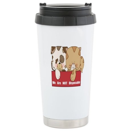 Pets Not Disposable Stainless Steel Travel Mug