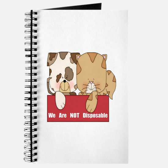 Pets Not Disposable Journal