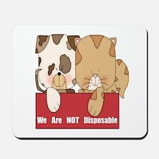 Pets Not Disposable Mousepad