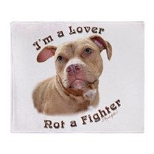 I'm a Lover Throw Blanket
