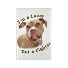 I'm a Lover Rectangle Magnet (10 pack)