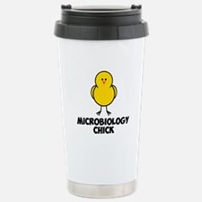 Microbiology Chick Travel Mug