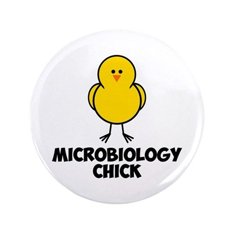 "Microbiology Chick 3.5"" Button (100 pack)"
