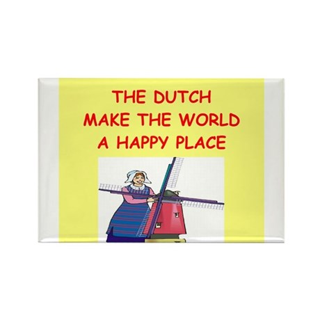 the dutch Rectangle Magnet (100 pack)