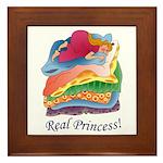 Real Princess Framed Tile