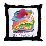 Real Princess Throw Pillow