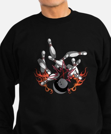 Bowl a strike Sweatshirt (dark)