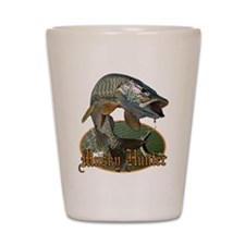 Musky Hunter 9 Shot Glass