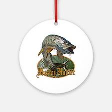 Musky Hunter 9 Ornament (Round)