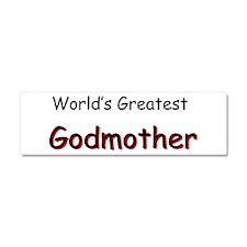 Greatest Godmother Car Magnet 10 x 3