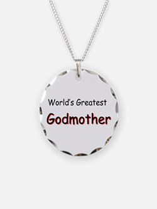 Greatest Godmother Necklace