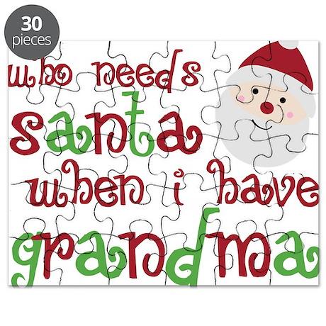 Who Needs Santa Puzzle