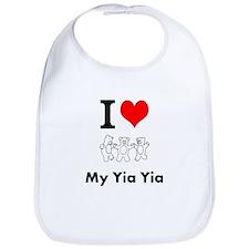I Love My Yia Yia - Bib