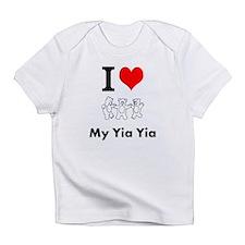 Cute Yia yia Infant T-Shirt