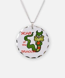 Year of the Dragon Cartoon Necklace