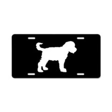 Schnoodle SILHOUETTE Aluminum License Plate