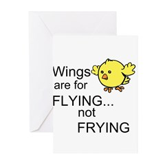 Wings are for Flying Greeting Cards (Pk of 20)