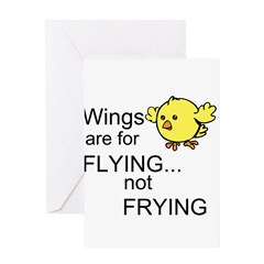 Wings are for Flying Greeting Card