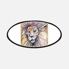 Lion, wildlife, art, Patches